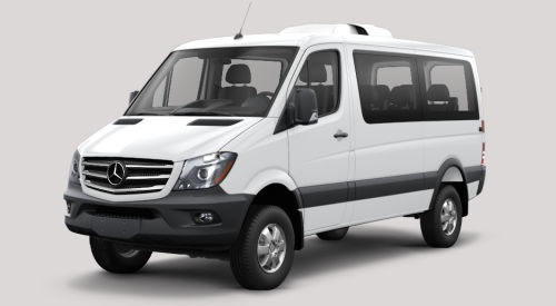 14 Passenger Van Mercedes Benz Four wheels drive Sprinter