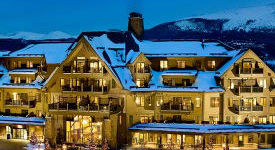 Denver International Ground Transportation to Ski Resort. Breckenridge Mountain